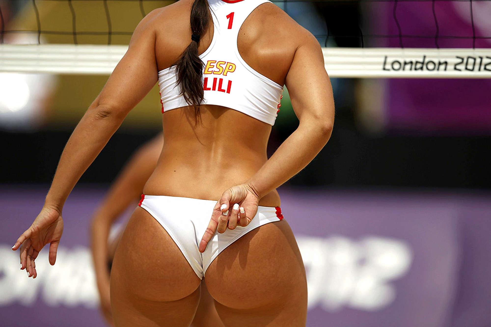Sexy culo alle olimpiadi