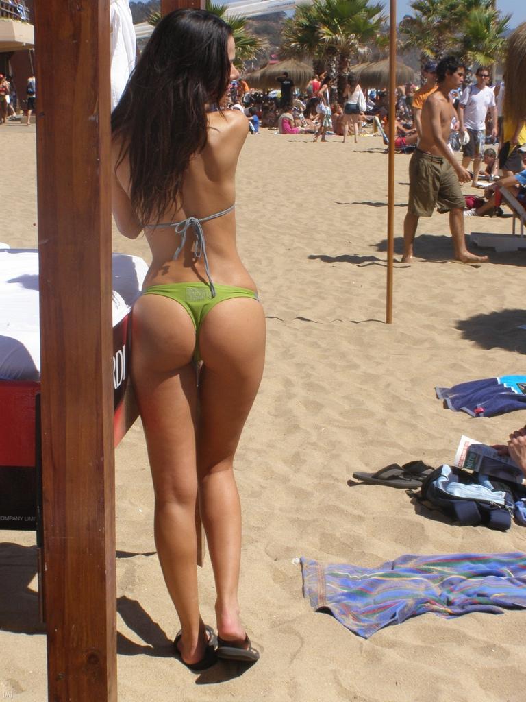 sexy culo da spiaggia