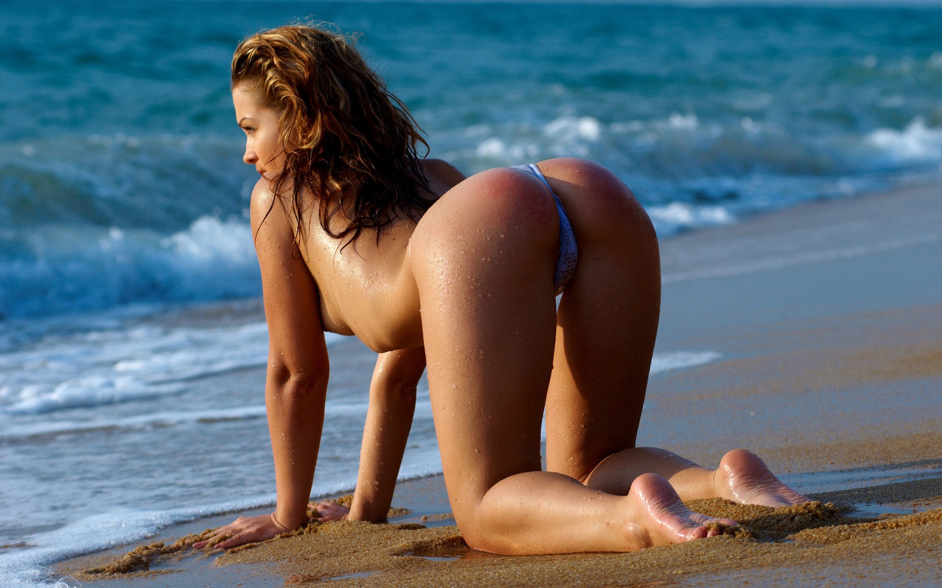 sexy culo in spiaggia