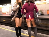 """No Pants Subway Ride - 2012"" - In metro senza pantaloni"